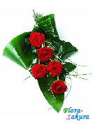 Бизнес букет цветов лаконичный . Доставка по Киеву и Украине