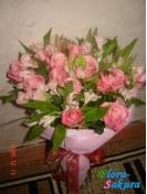 Букет цветов Любимой с любовью . Доставка по Киеву и Украине