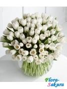 Букет тюльпанов 011 . Доставка по Киеву и Украине
