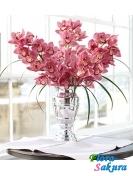 Букет из Розовых Орхидей . Доставка по Киеву и Украине