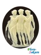 Шоколадный сувенир Три Грации . Доставка по Киеву и Украине