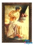 Шоколадная картина Мадемуазель . Доставка по Киеву и Украине