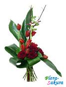 Бизнес букет цветов Нечаянная радость . Доставка по Киеву и Украине