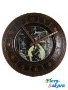 Шоколадный подарок Часы из черного шоколада . Доставка по Киеву и Украине