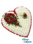 Сердце цветов Нежность ангела . Доставка по Киеву и Украине