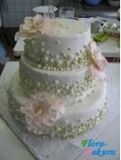 Свадебный торт 13 . Доставка по Киеву и Украине