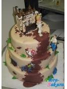 Свадебный торт 15 . Доставка по Киеву и Украине