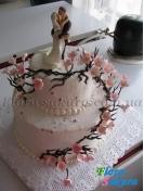 Свадебный торт 24 . Доставка по Киеву и Украине