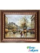 Шоколадная картина Дождь в Париже . Доставка по Киеву и Украине