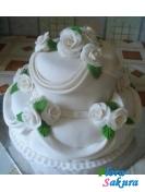 Свадебный торт Живанши . Доставка по Киеву и Украине