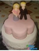 Свадебный торт Тан . Доставка по Киеву и Украине