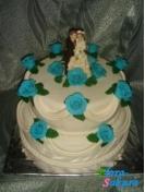 Свадебный торт Карден . Доставка по Киеву и Украине