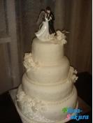 Свадебный торт Селяви . Доставка по Киеву и Украине