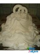 Свадебный торт Невинность . Доставка по Киеву и Украине