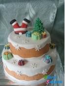 Торт на Новый год . Доставка по Киеву и Украине
