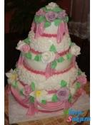 Свадебный торт Везувио . Доставка по Киеву и Украине