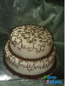 Свадебный торт Констанция . Доставка по Киеву и Украине