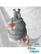 Свадебный торт 91 . Доставка по Киеву и Украине