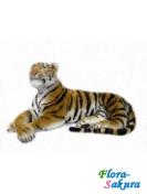 Большая мягкая игрушка Тигр . Доставка по Киеву и Украине