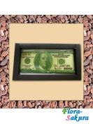 Шоколадные 100 долларов . Доставка по Киеву и Украине