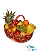 Корзина с фруктами 4 . Доставка по Киеву и Украине