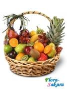 Корзина с фруктами . Доставка по Киеву и Украине