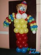 Клоун из шаров . Доставка по Киеву и Украине