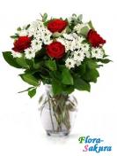 Букет цветов Воздушный поцелуй . Доставка по Киеву и Украине