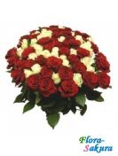 Букет из 101 розы Виват! . Доставка по Киеву и Украине