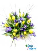 Букет цветов Весенний привет . Доставка по Киеву и Украине