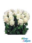 Букет белых роз Белая роса . Доставка по Киеву и Украине