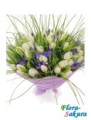 Букет цветов Весенняя свежесть . Доставка по Киеву и Украине