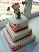 Свадебный торт Стрелы амура . Доставка по Киеву и Украине