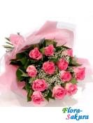 Букет роз Виктория . Доставка по Киеву и Украине