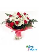 Букет цветов Аромат зари . Доставка по Киеву и Украине