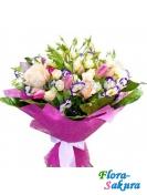 Букет цветов Аромат весны . Доставка по Киеву и Украине