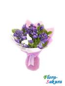 Букет цветов Весеннее небо . Доставка по Киеву и Украине