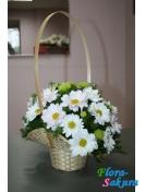 Корзина цветов Прекрасный день . Доставка по Киеву и Украине