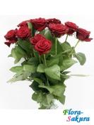 Букет из 11 красных роз . Доставка по Киеву и Украине