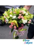 Букет цветов Тайная встреча . Доставка по Киеву и Украине