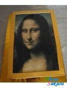Фото-торт Мона Лиза . Доставка по Киеву и Украине