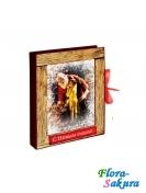 Шоколадная картина Санта . Доставка по Киеву и Украине