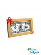 Шоколадная открытка Миллион долларов . Доставка по Киеву и Украине