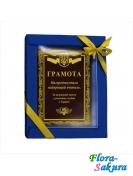 Шоколадная открытка Лучшему учителю . Доставка по Киеву и Украине
