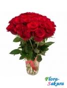 21 красная роза Гран При . Доставка по Киеву и Украине