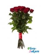 25 красных роз Гран При . Доставка по Киеву и Украине