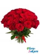 51 красная роза Гран При . Доставка по Киеву и Украине