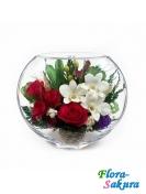 Композиция роз и орхидей ЕSM-03 . Доставка по Киеву и Украине