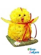 Цыпленок из цветов . Доставка по Киеву и Украине
