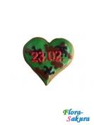 Сердце 23.02 . Доставка по Киеву и Украине